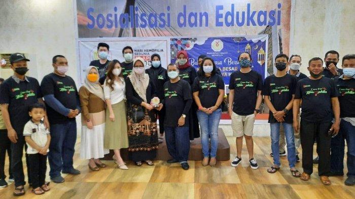 Peringati Hari Hemofilia Sedunia, Komunitas Cahaya Hemofilia Buka Puasa Bersama
