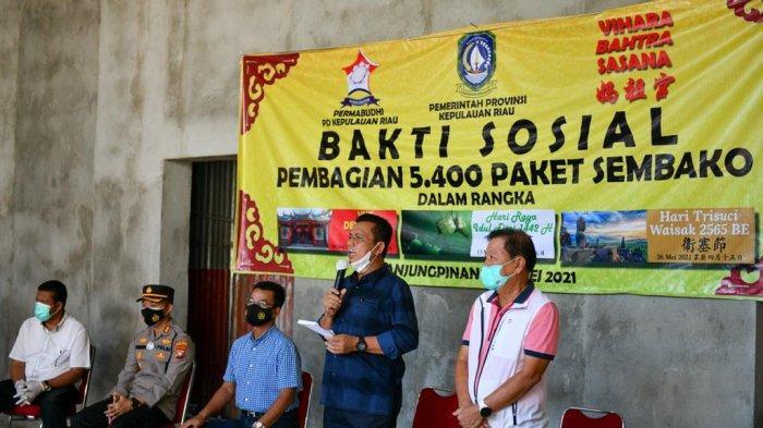 Gubernur Kepri Larang Pejabat Daerah Gelar Open House saat Lebaran, Tekan Angka Covid