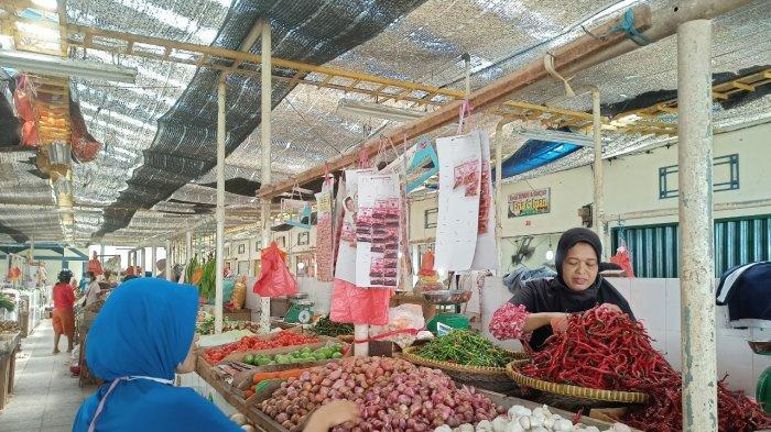 Daftar Harga Sembako di Pasar Rakyat Meral Karimun Jelang Lebaran 2021, hingga Bumbu Dapur
