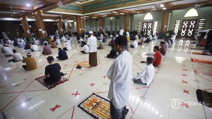 Tanjungpinang Masih Zona Merah, Ini 5 Poin yang Harus Dipertimbangkan untuk Salat Jemaah di Masjid