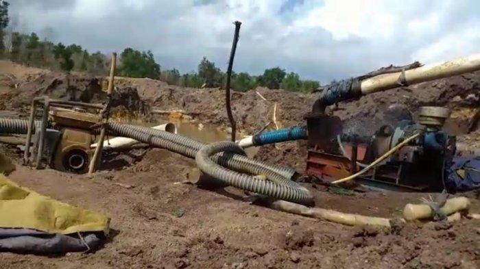 Bandel, Tambang Pasir Ilegal di Kawasan Kawal Bintan Kembali Beroperasi Pasca Ditertibkan