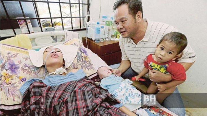BAYI AJAIB! Tetap Bertahan 7 Bulan di Rahim Sampai Lahir Saat Ibunya Koma dan Operasi Tumor Otak