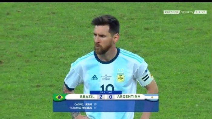Lionel Messi Kecewa Setelah Tahu Copa America 2020 Ditunda ke 2021