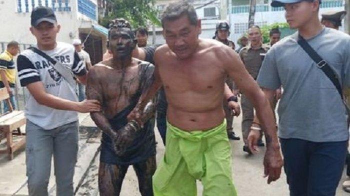 Takut Ditilang Polisi, Pria Ini Sembunyi Dalam Selokan Selama 24 Jam, Tertangkap Gara-gara Ini