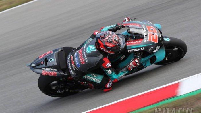 MotoGP Prancis Live Trans7, Raih Pole Position, Fabio Quartararo Khawatir Ancaman Pebalap Ducati