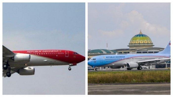 Warna Pesawat Kepresidenan RI Biru Putih di Era SBY Jadi Merah Putih di Jaman Jokowi