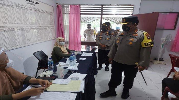 Vaksinasi Corona di Batam, Kapolresta Barelang Minta Warga Tertib dan Patuhi Prokes