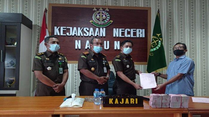Mantan Bupati Natuna Raja Amirullah Bayar Denda Rp 200 Juta terkait Kasus Korupsi