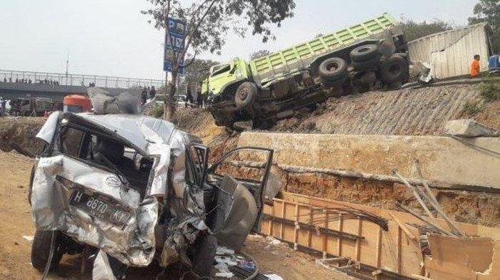 Kesaksian Sopir Dump Truck Kecelakaan Tol Cipularang, Keluhkan Rem Blong dan Diminta Berdoa