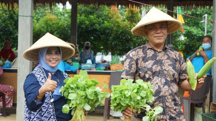 Bantu Sarana Pertanian, Walikota Tanjungpinang Ajak Warga Belanja di Gerai Pangan