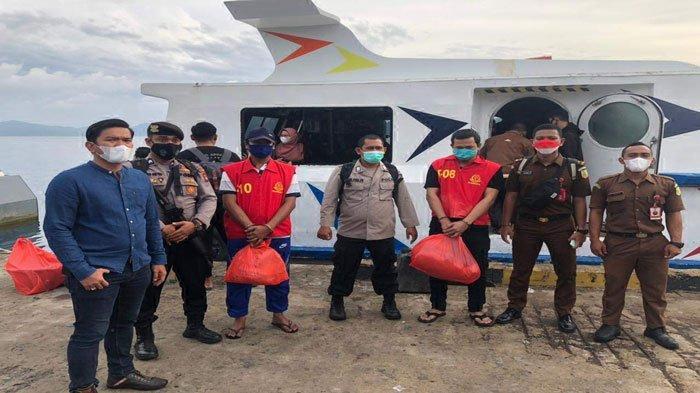 Dua Tahanan Cabjari Natuna di Tarempa Dipindahkan ke Rutan Tanjungpinang