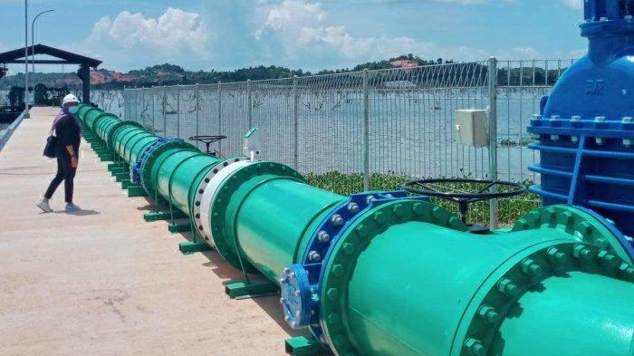 Resmikan Pipa Transmisi Tembesi - Mukakuning, BP Batam Jamin Ketersediaan Air 5 Tahun Mendatang