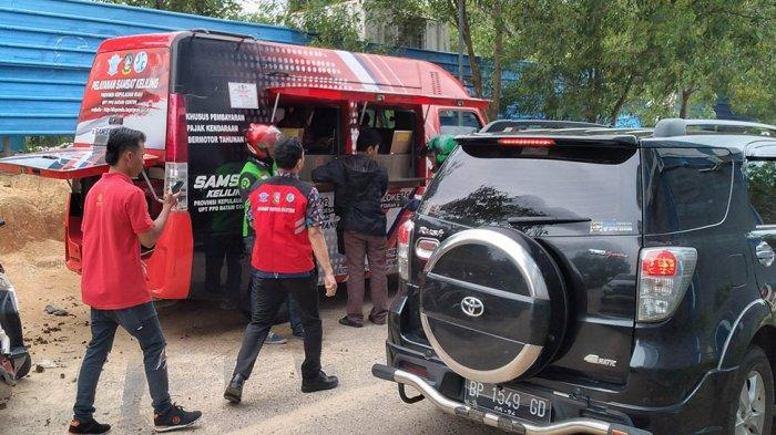 Ratusan Motor Ditahan Akibat Kena Razia di Batam, Driver Gojek Panen Rezeki