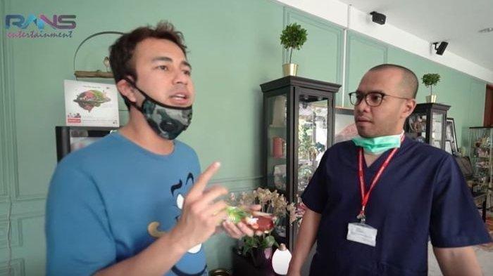 Raffi Ahmad Curhat Sesak Napas Saat Baca Soal Virus Corona Kepada Dokter, Mengapa?