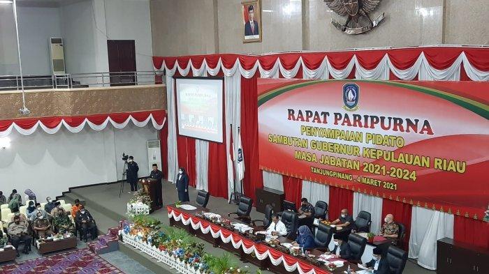 Pidato Perdana Gubernur Kepri di DPRD, Ansar-Marlin Sampaikan Visi Misi & Program Unggulan