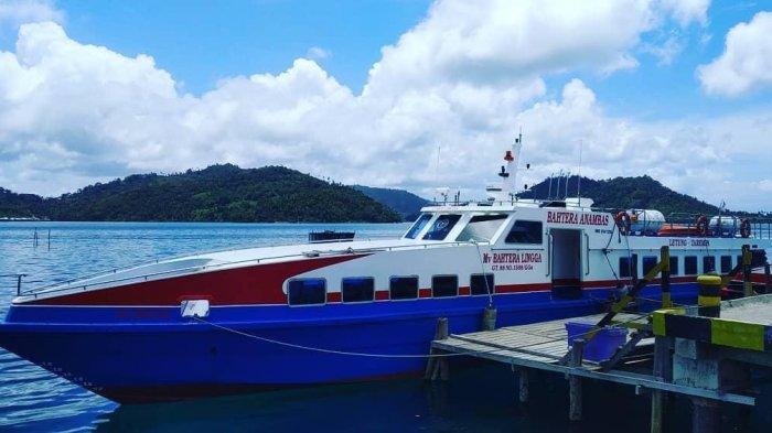 Kabar Baru, Pelayaran Tarempa ke Letung Anambas Pindah Sandar di Pelabuhan Padang Melang