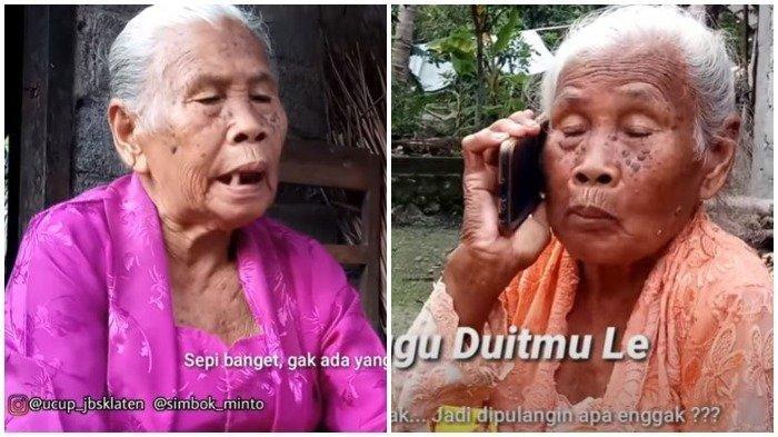 Fakta-fakta Mbah Minto, Nenek Asal Klaten yang Viral Gara-gara Video Parodi Larangan Mudik