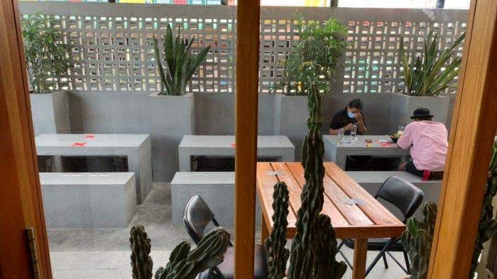 BEGINI Cara Cafe Luargaris Batam Terapkan Protokol Kesehatan Secara Ketat