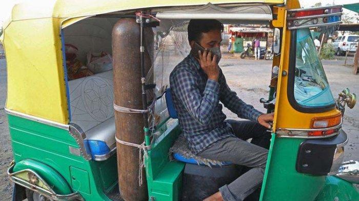 Covid-19 India: Mohammad Javed Khan Rela Jual Perhiasan Istri demi Sulap Bajaj jadi Ambulans