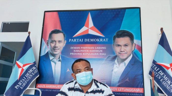 Pemkab Karimun Berutang Rp 55 M ke Kontraktor, Fraksi Demokrat DPRD Desak segera Bayar