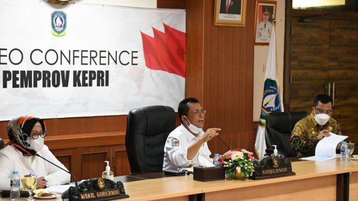 Gubernur Kepri Kejar Target Vaksinasi Covid-19 dan Minta PPKM Mikro Dioptimalkan