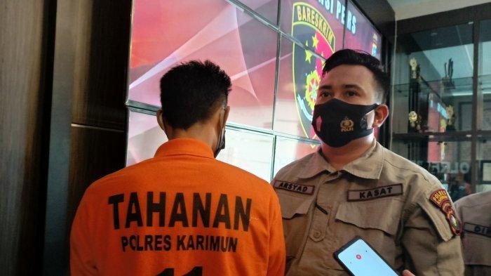 Remaja di Karimun Ditangkap Polisi, Uang Hasil Curian Buat Beli Lem Kambing dan Rokok