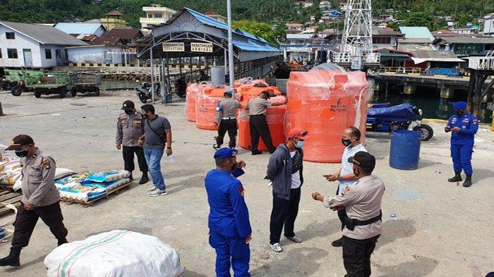 Polsek Siantan Razia Preman di Pelabuhan Tarempa Anambas