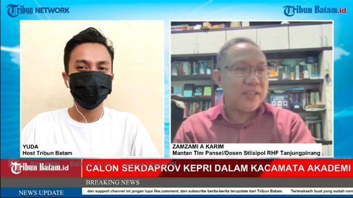 Wawancara Eksklusif, Calon Sekdaprov Kepri dalam Kacamata Akademisi Bersama Zamzami
