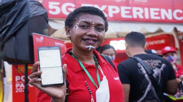 PON XX Papua, Telkomsel Hadirkan Pengalaman 5G untuk Masyarakat Sekitar