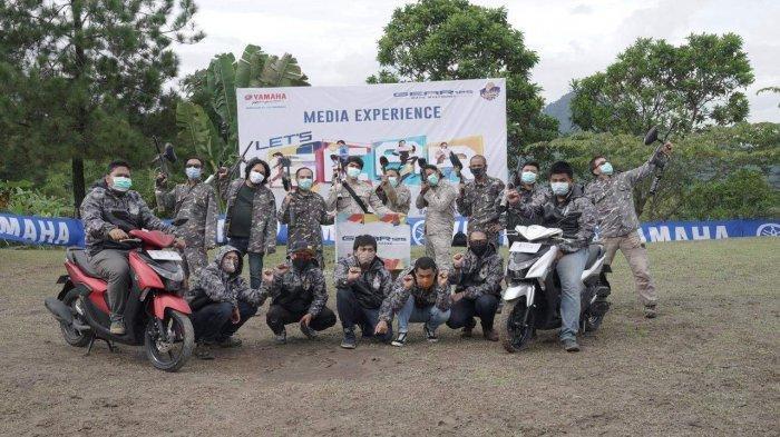 Riding Perdana, Yamaha GEAR 125 Bersama Awak Media