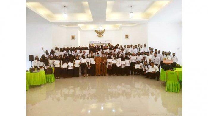 125 CPNS di Lingga Terima SK, Pj Sekda: Tanamkan di Hati Jadi CPNS yang Baik, Kerja Profesional