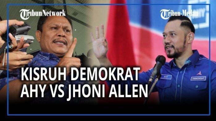 JHONI ALLEN MARBUN DAN AGUS HARIMURTI YUDHOYONO: Jhoni Allen Marbun Blak-blakan Ngaku Beri Rp 10-25 Juta ke Kader Demokrat yang Hadir, Ini Tujuannya