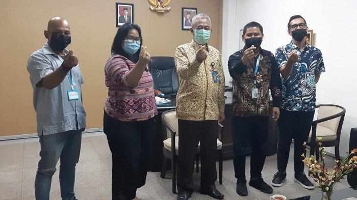 BAHAS Stunting hingga Publikasi, Manajemen Tribun Batam Kunjungi Kantor BKKBN Batam