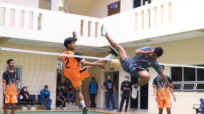 Kembangkan Olahraga Asal Melayu, Dispora Batam Gelar Ekshibisi Sepak Takraw