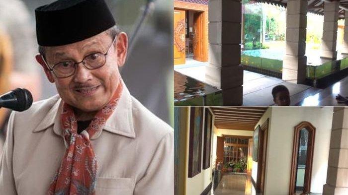 Dihiasi Barang Antik, Ini Rumah Mendiang BJ Habibie Luas Kayak Mall, Basement Bisa Tampung 32 Mobil