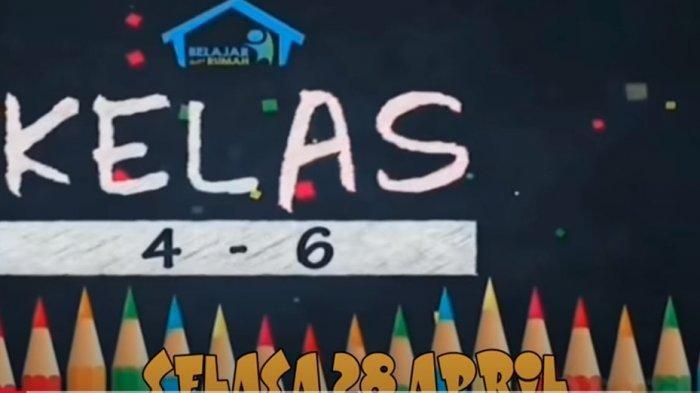 Soal dan Kunci Jawaban Belajar dari Rumah TVRI Selasa 17 November Kelas 4-6 SD, Nilai Pancasila