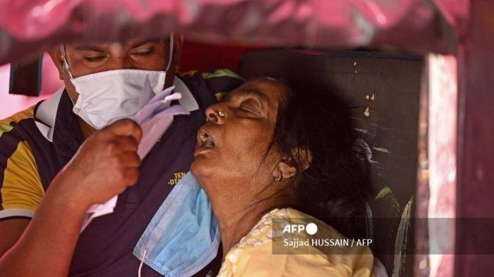 India Pecah Rekor Covid-19, Dalam 24 Jam Positif Tembus 20 Juta Kasus, RS Menyerah: Butuh Oksigen