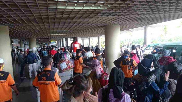 BESOK Aturan Larangan Mudik Berlaku, Begini Suasana di Bandara Hang Nadim Batam
