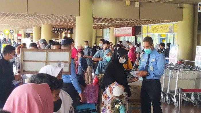 JELANG Larangan Mudik, Tiap Hari 5.000 Orang Tinggalkan Batam Lewat Bandara Hang Nadim