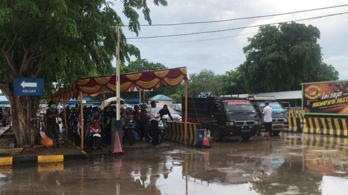 H-1 Larangan Mudik di Kepri, Pelabuhan Roro ASDP Tanjunguban Padat, Bulang Linggi Normal