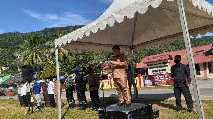 Wabup Wan Zuhendra Pimpin Apel Pasukan Operasi Ketupat 2021 di Anambas, Ingatkan Larangan Mudik