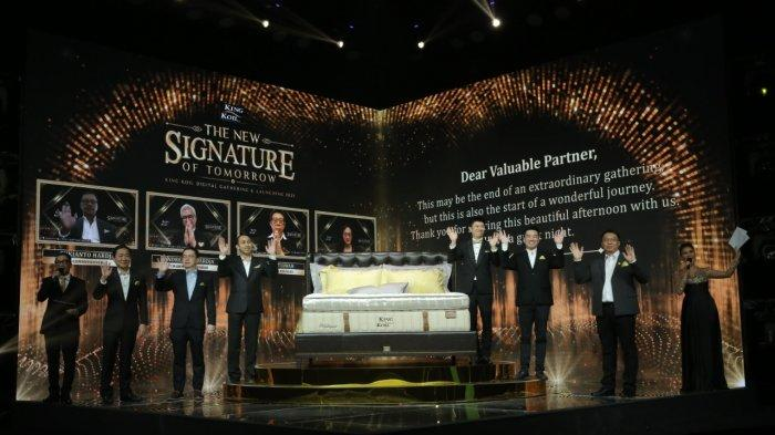 King Koil Luncurkan Matras Signature Gold Response Series, Dengan Teknologi Auto Body Zoning System