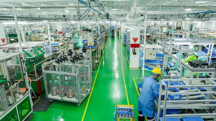 HEBAT! Perusahaan Elektronik di Muka Kuning Batam Ini Jadi Contoh Industri 4.0 Level Dunia