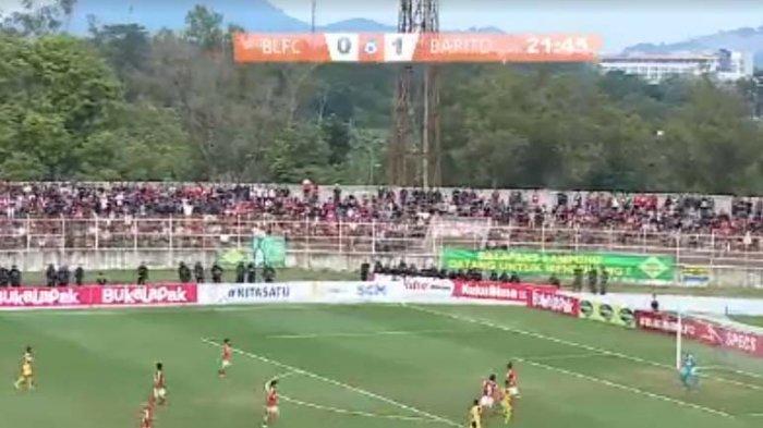 Sedang Berlangsung Badak Lampung vs Barito Putera Skor 0-1