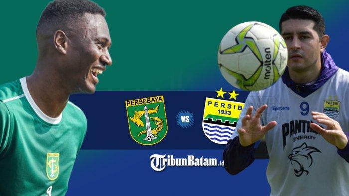 Persebaya vs Persib Bandung, Osvaldo Haay Absen, Amido Balde Starter, Esteban Vizcarra Debut