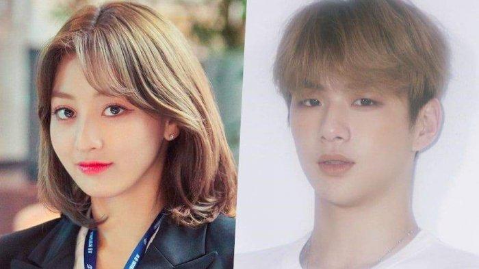 Jihyo TWICE dan Kang Daniel