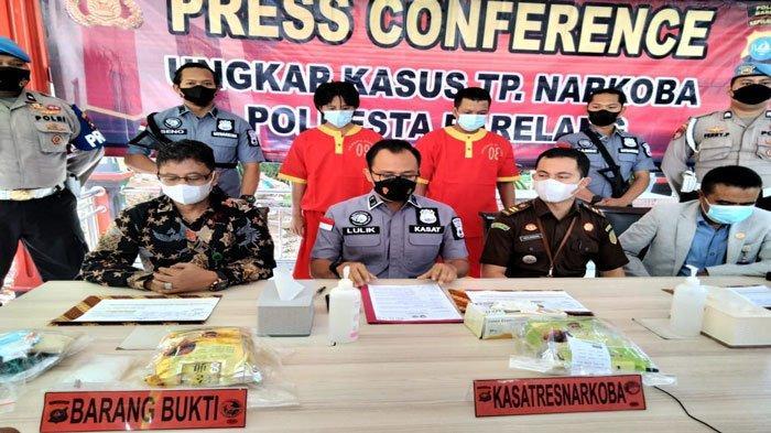 Dua Pengedar Sabu di Batam dan Tanjungpinang Ditangkap Polisi, Total BB 2,2 Kilo