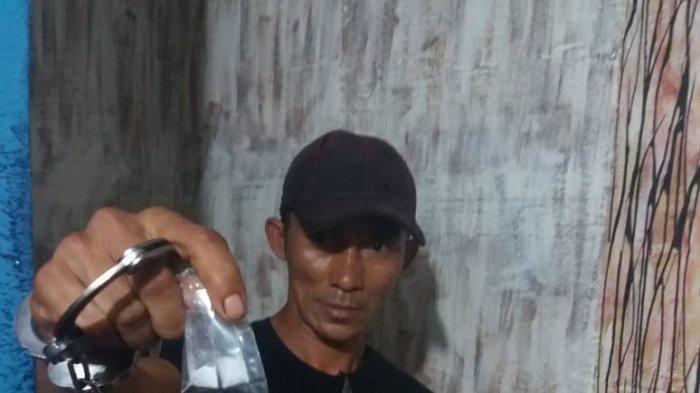 Satreskrim Polres Anambas Temukan Sabu Dalam Kotak Kacamata di Rumah Azwar