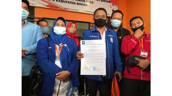 Tarik Ulur Dukung Apri-Roby di Pilkada Bintan, Ketua DPD PAN Bintan: Inilah Dinamika Politik