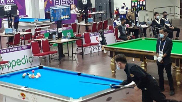 ATLET Billiard Kepri Raih Medali Perunggu Nomor 15 Ball Double saat PON XX Papua